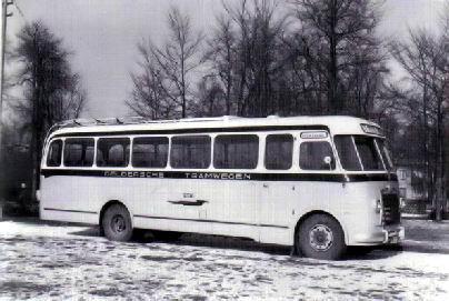 1954 Magirus Deutz O 3500-53A KHD F4L154 90pk carr Verheul GTW115