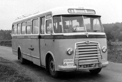 1954 Magirus Deutz O 3500-53A KHD F4L154 90pk carr Verheul GTW119