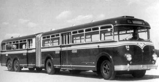 1954 MAN articulado modelo MKP 26T