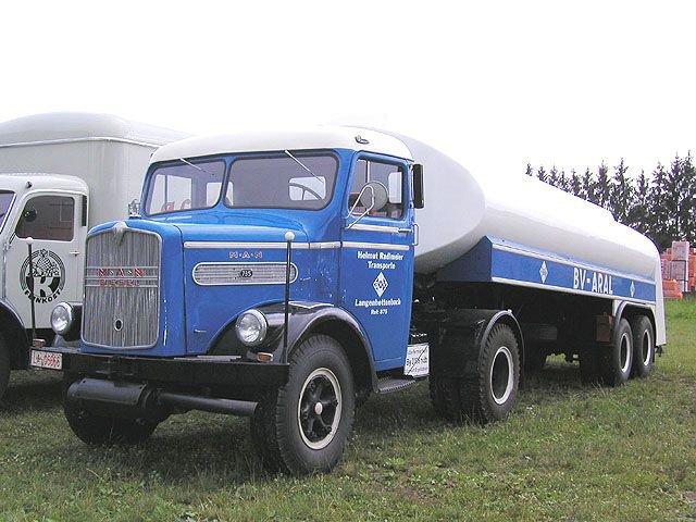 1954 MAN L745 tracteur