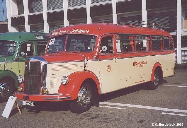 1954 Mercedes Benz O 3500 Überlandbus