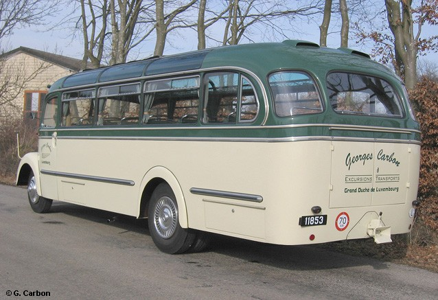 1954 Mercedes Benz O 3500 Reisebus (Heck) Lux