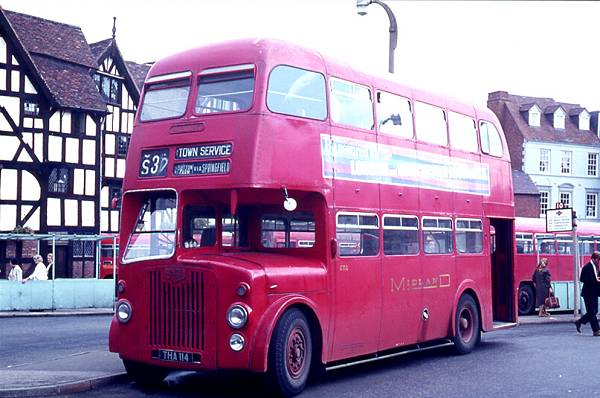 1954 Metro Cammell H37-26RD body. It was a B.M.M.O. D7