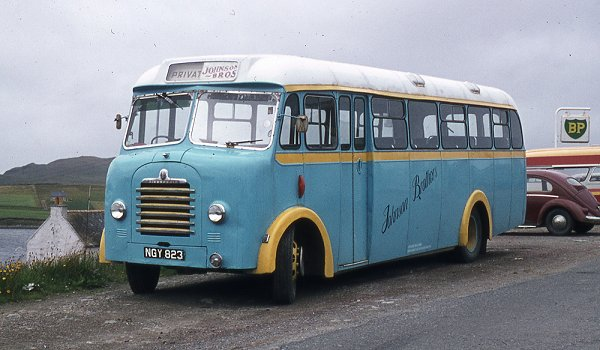 1954 Mulliner bodied Bedford SBG ngy823a
