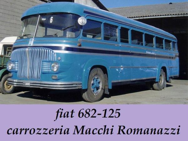 1955 Fiat 682-125 Macchi