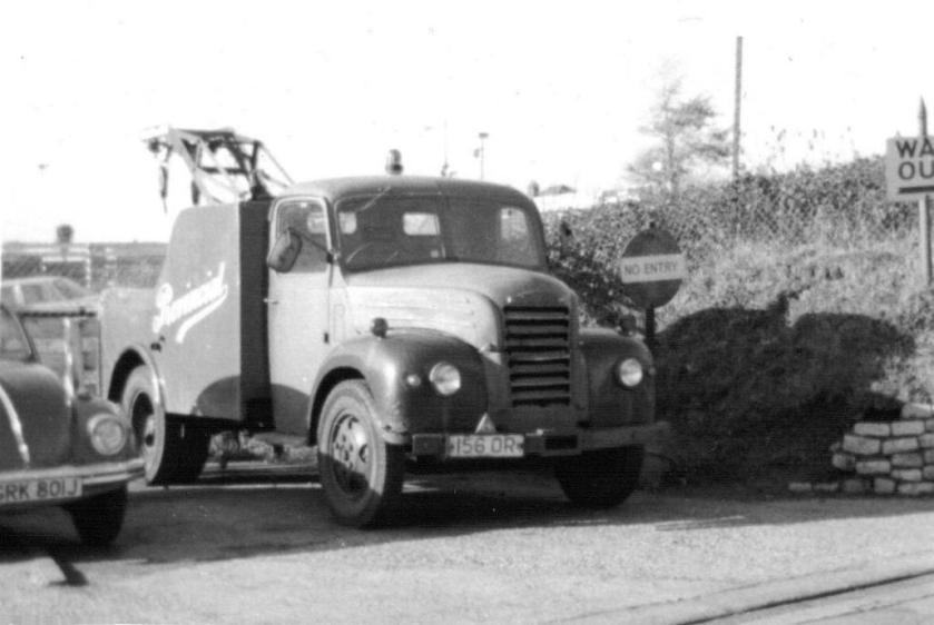 1955 Ford Thames with Mann Egerton crane