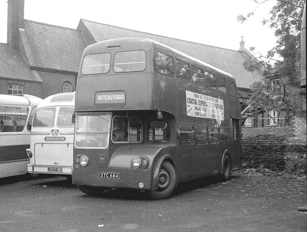 1955 Leyland Atlantean and was a PDR1 model with Metro Cammell H37-24RD bodywork