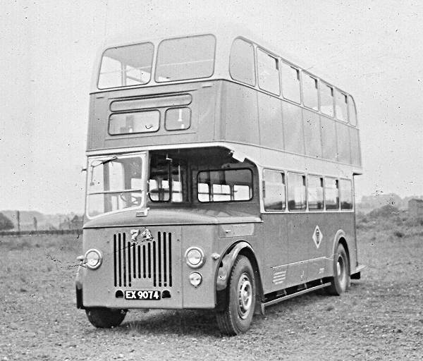 1955 Leyland PD2-22 with Massey H30-28R body