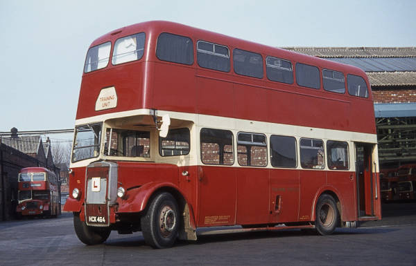 1955 Leyland Titan PD2-13 with Metro-Cammell H33-28RD body