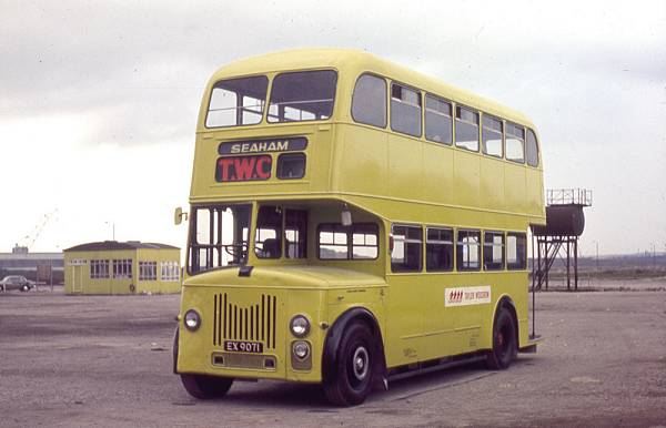 1955 Leyland Titan PD2-22 with Massey H30-28R bodywork