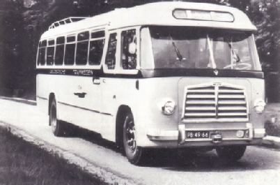 1955 MAN 530 SOC1 MAN D 1246M2 carr Verheul GTW 151