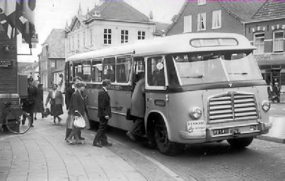 1955 MAN 530 SOC1 MAN D 1246M2 carr Verheul GTW 155