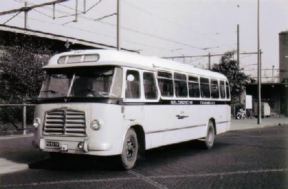 1955 MAN 530 SOC1 MAN D 1246M2 carr Verheul GTW 157