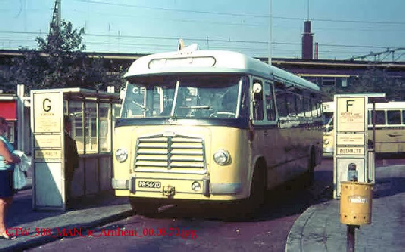 1955 MAN 530 SOC1 MAN D 1246M2 carr Verheul GTW 158