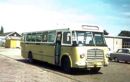 1955 MAN 530 SOC1 MAN D 1246M2 carr Verheul GTW 161