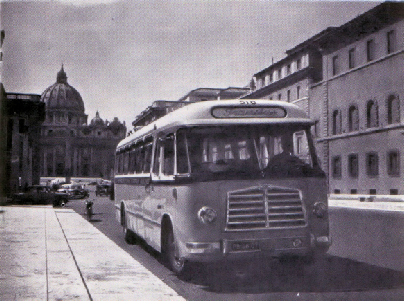 1955 MAN 530 SOC1 MAN D 1246M2 carr Verheul GTW 168 in Rome