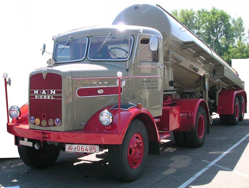 1955 MAN 750