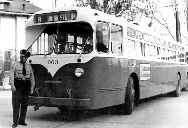 1955 Marmon-Herrington  Indianapolis Trolley