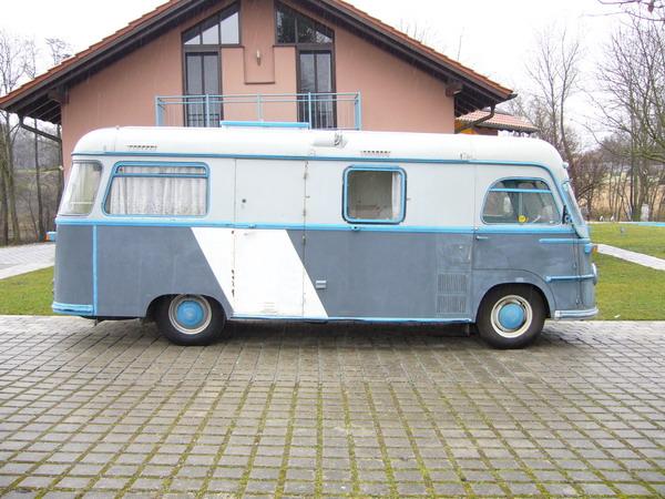 1955 Tempo Matador Mikafa Wohnmobil a