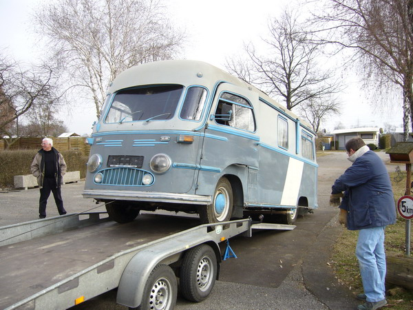 1955 Tempo Matador Mikafa Wohnmobil
