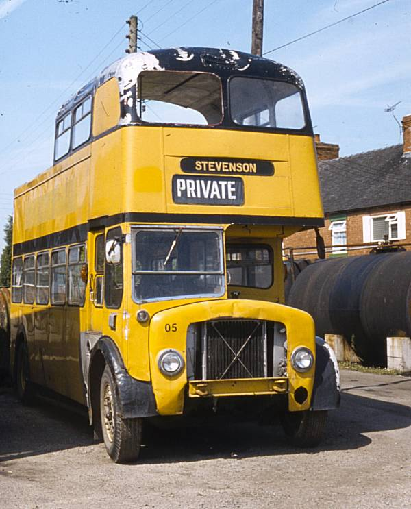 1956 A E C Regent V MD3RV with Metro-Cammell bodywork.