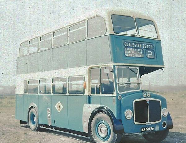1956 AEC Regent V with Massey H30-28R body gy26