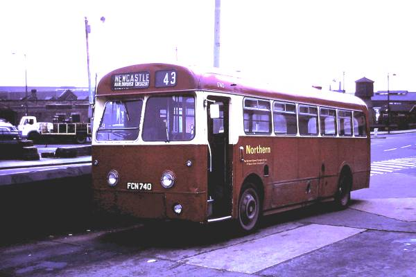 1956 AEC Reliance with an MCW B44F body