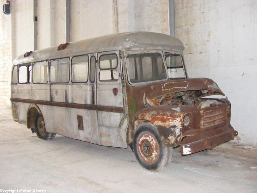 1956 Bedford A4LZ-Mulliner Hospital Bus