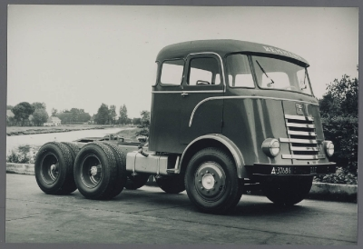 1956 DAF T 1500 DL Remmers, Appingedam Medema cabine