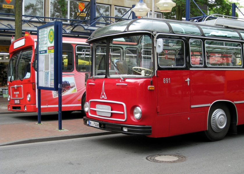 1956 Hamm  Westfalen (Germany) Magirus Deutz Saturn II bus