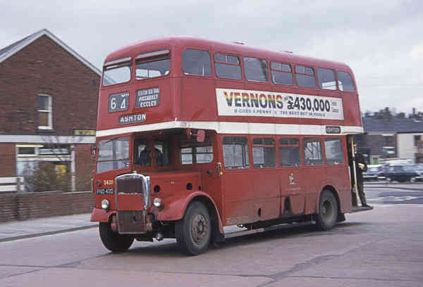 1956 Leyland Titan PD2-12 with Metro-Cammell Orion H36-30R body