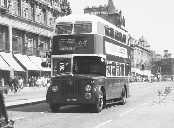 1956 Leyland Titan PD2 with Metro-Cammell H63R body