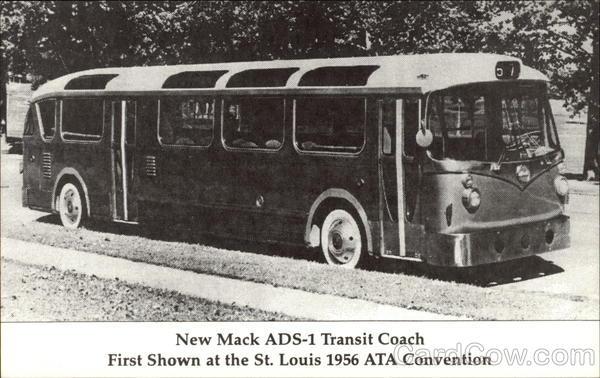 New Mack ADS-1 Transit Coach