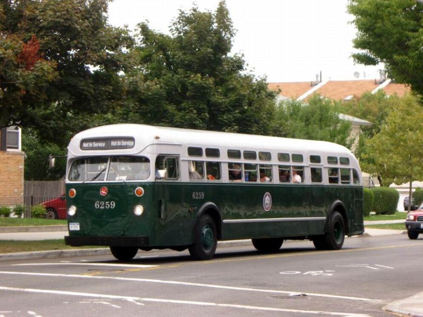 1956 Mack C-49-DT coach built