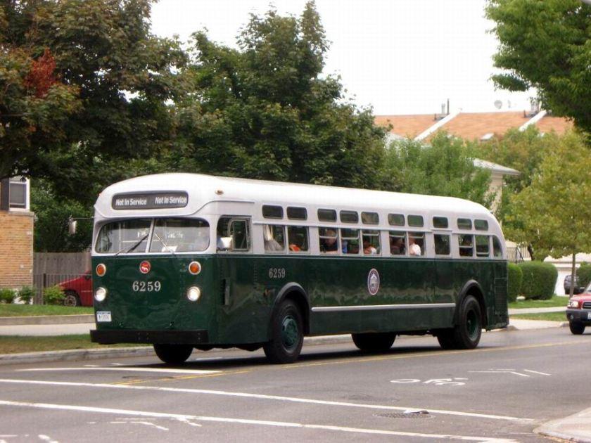 1956 Mack C-49-DT coach built