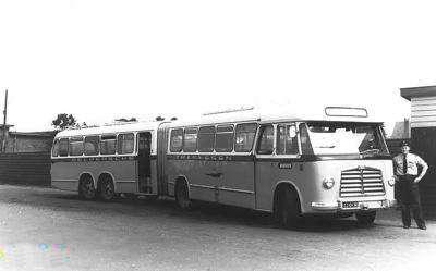1956 MAN Kässbohrer gelede bus 530 SOC1 D 1246M3 135pk Verheul carr GTW 590