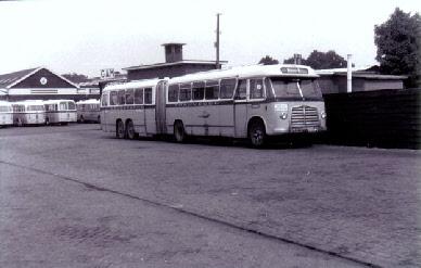 1956 MAN Kässbohrer gelede bus 530 SOC1 D 1246M3 135pk Verheul carr GTW 591