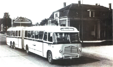 1956 MAN Kässbohrer gelede bus 530 SOC1 D 1246M3 135pk Verheul carr GTW 593