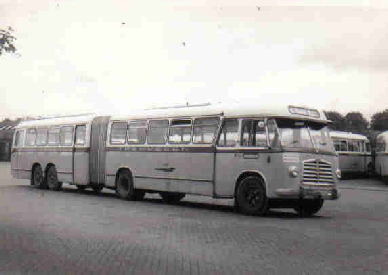 1956 MAN Kässbohrer gelede bus 530 SOC1 D 1246M3 135pk Verheul carr GTW 594