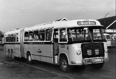 1956 MAN Kässbohrer gelede bus 530 SOC1 D 1246M3 135pk Verheul carr GTW 596
