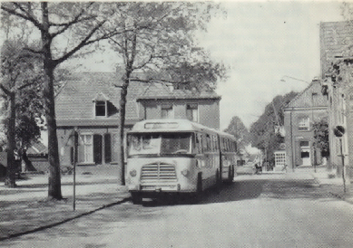 1956 MAN Kässbohrer gelede bus 530 SOC1 D 1246M3 135pk Verheul carr GTW 598