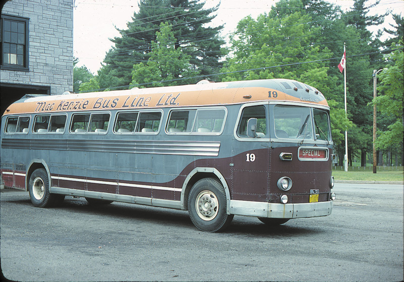 1956 MCI's Model 96 was the last major model prior to the start of the MC-1