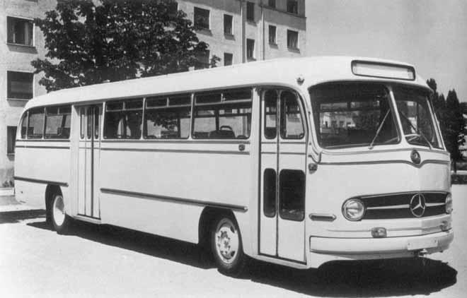 1956 Mercedes Benz O321HL