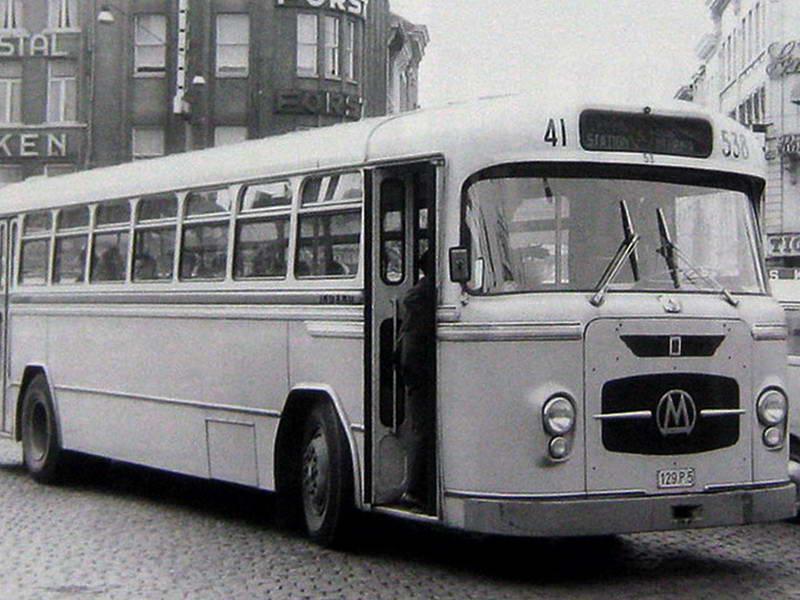 1956 Miesse bus