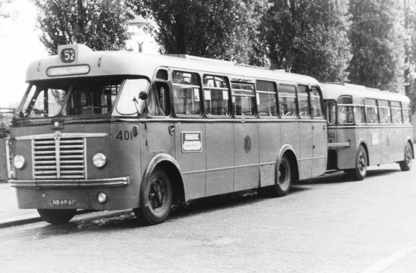 1957 Aanhangers voor RET van Medema Appingedam a
