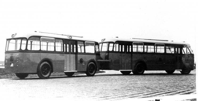 1957 Aanhangers voor RET van Medema Appingedam