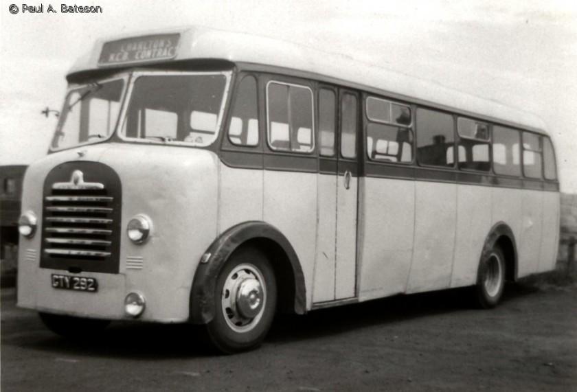1957 Bedford SBO Mulliner B36F