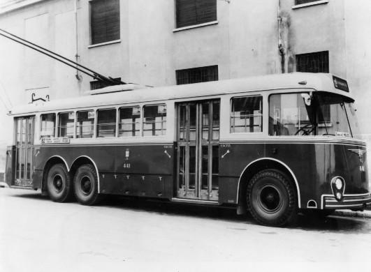 1957 filobus 140AF 4 Macchi