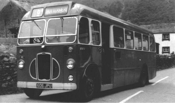 1957 Former Eastern National Bristol SC 436, 606JPU, and seen here with Cumberland