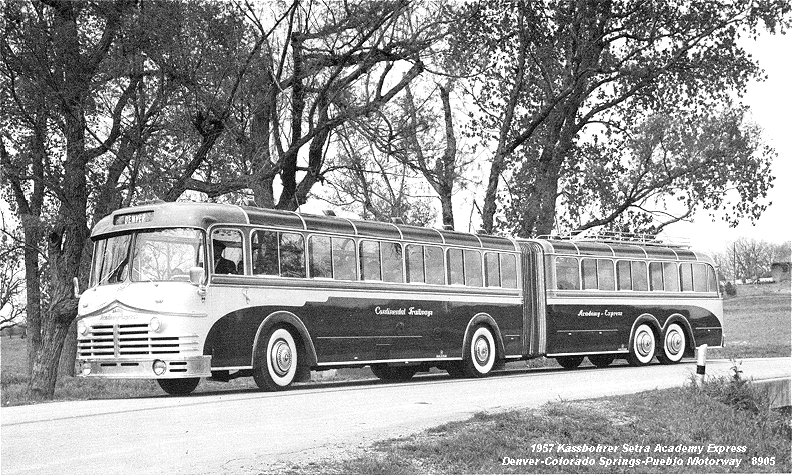 1957 Kässbohrer Setra Academy Express DCSP-8905 AE